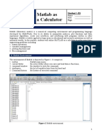 Modul 0 and 1 Matlab Dynamic system