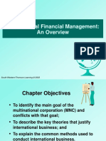 Chapter 01 Multinational Financial Management an Overview