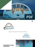 3D Dome Homes-Smart Villages Canada