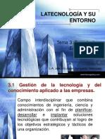 Tema III - Tecnologías Empresariales - Nuevo