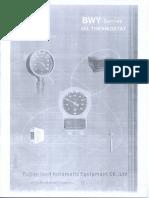 1.10 Oil Temperature Indicator Operation Instruction