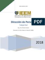 Trabajo Final-Dirección de Personas-Alvaro Castro