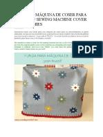 Funda de Máquina de Coser