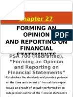 Chapter 27 Forming and Opinion and Reports on FS.pptx