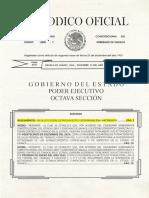 Reglamento de La Ley Estatal de Presupuesto y Responsabilidad Hacendaria Oaxaca