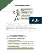 Ciclo de Funcionamiento Del PLC