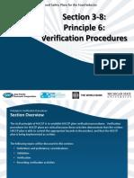 SCM 16 Section 3-8 HACCP Principle 6-Verification Procedures 6-2012-English