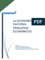 Equipolosfantasticos s1 Te1 La Economía Nacional