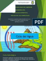 Proceso Ciclo Hidrologico