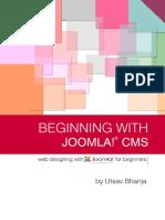 Beginning with joomla