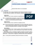 19 Resumo 1807695 Paulo Igor 26662545 Direito Penal Parte Especial Aula 19 Crimes Contra a Honra Difamacao