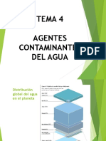Tema 4 Agentes Contaminantes Del Agua