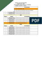 Jadual Kuliah Magrib 2019