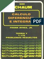 [Schaum - ayres Calculo Diferencial e Integral