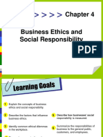 Ethics and Social Responsibility PPT