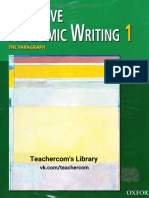 Effective Academic Writing 1