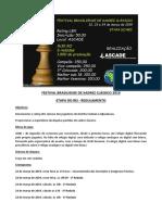 Festival Brasiliense de Xadrez Classico 2019