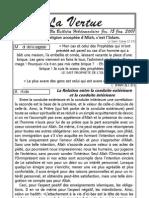 La Vertu Volume1 Issue1