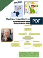 Pedagogía Compleja - Claudia Hernández