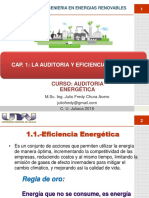 CAP I Auditoria vs Eficiencia Energetica