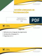 Sesion7_IntroducciónEnLenguajesProgramación