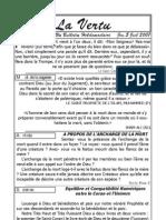 La Vertu Volume1 Issue19