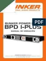 Manual BPD 1 Plus