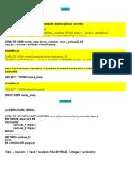 RESUMO PostgreSQL
