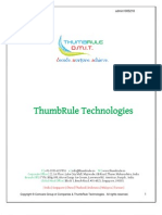 ThumbRule Sample Report