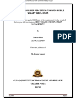 A STUDY OF CONSUMER PERCEPTION TOWARDS MOBILE WALLET IN DELHI NCR (2).docx