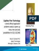 Capillary Flow Technology