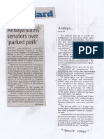Manila Standard, Mar. 11, 2019, Andaya slams senators over parked pork.pdf