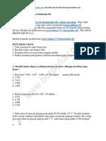 40+ Contoh Soal Latihan UN Matematika SD + Kunci Jawaban
