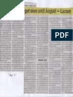 Philippine Star, Mar. 11, 2019, Reenacted budget seen until August-Lacson.pdf