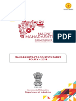 Maharashtras Logistic Policy 2018