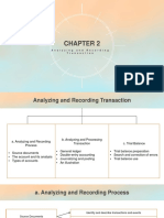 Analyzing and Recording Transaction