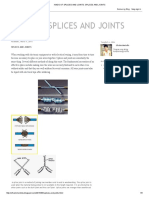 Kinds of Splices and Joints_ Splices and Joints