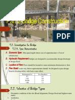 Selection of Type of Bridge