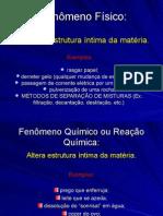 Química PPT - Aula Métodos Separação Misturas