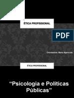 08.05 - Psicologia e Políticas Públicas