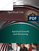 D & D Spiritual Life