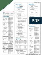 Formulario Algebra 1er Parcial