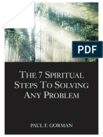 The 7 Spiritual Steps To Solving Any Problem - Paul F. Gorman.pdf