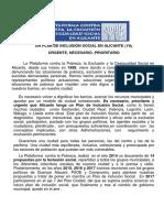 Un Plan de Inclusión Social en Alicante