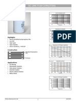 DC Link Capacitors Datasheet DCL 6