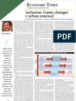 Financial Inclusion Game Urban Renewal