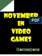 November in Video Games