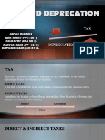 Tax & Depreciation