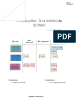La méthode Scrum