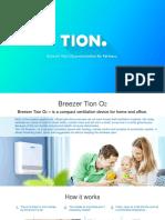 Tion O2 Breezer Presentation (Eng)
